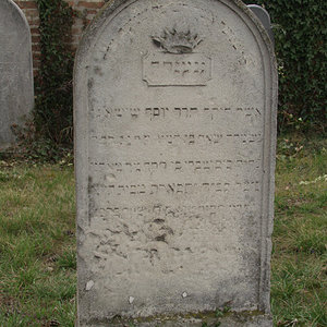 Tombstone Hebrew 33