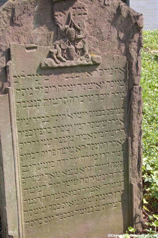 Tombstone Hebrew 3